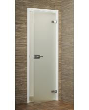 Bathroom doors with wooden frame