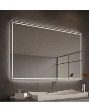 Calere Luxury LED Mirror with individual measurements